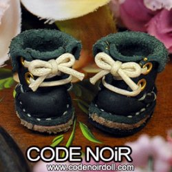 IOS000010 Pine Green Fold Over Boots