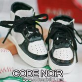 CLS000146 Black/White Sneakers