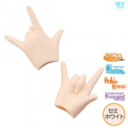 DDII-H-09-SW / Idol/Love Hands / Seri-White