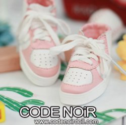 CLS000147 Pink/White Sneakers