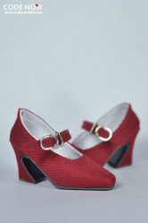 CMS000057 Red Mary Jane Heels