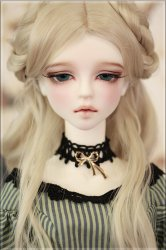 Basic[Yena]-white skin with makeup, wig,eyes, Heel Legs