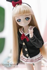 CMD000084 Black Sailor Uniform