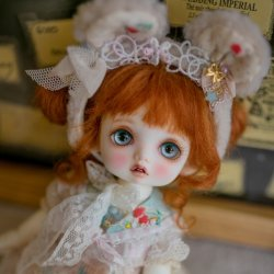 [In Stock] Chouquette Head (make up) : Rollingpumpkin ver. (Limi