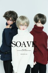 [In Stock] SOAVE - Off White, Burgundy, Navy