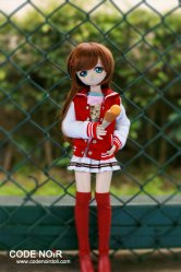 CMD000068 Red Sailor Style Baseball Set
