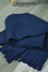 [Pre-Order June]CAC000005 Navy Plush Scarf