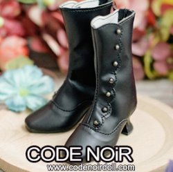 CMS000150 Black Button Boots MSD ver.