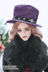 CAC000054 Purple Gentleman Hat for SD Size