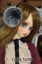 [Pre-Order May]CAC000002 Faux Fur Earmuffs (Grey) for 8-9 inch
