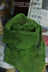 [Pre-Order June]CAC000013 Green Linen Scarf