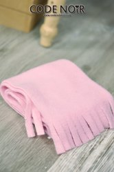 [Pre-Order June]CAC000008 Pink Plush Scarf