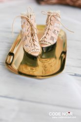 [Pre-order]CMS000079 Nude Lace Caged Heels