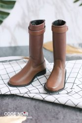 CBS000030 Light Brown Two Tone Riding Boots