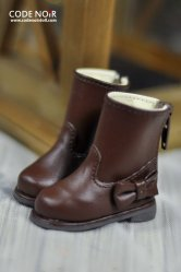 CYS000035 Brown Ribbon Rain Boot
