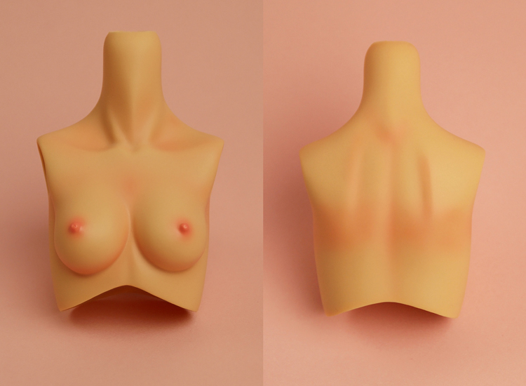 [Outer Body Part] Type-F Bust Tan (Blushed)