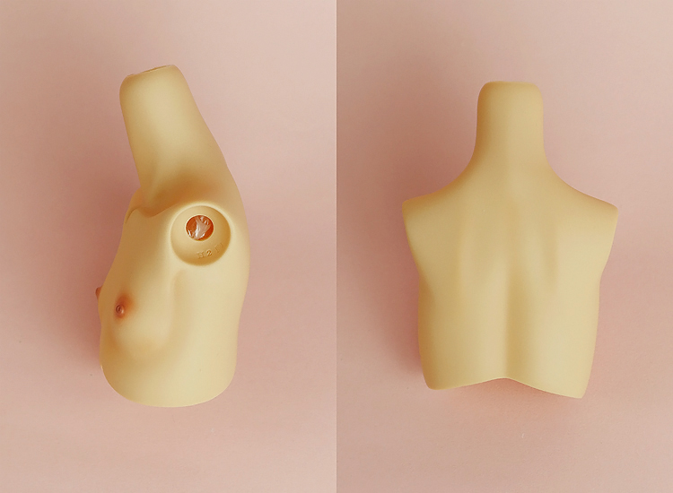 [Outer Body Part] Type-H2 Bust Tan Soft Skin (Blushed)
