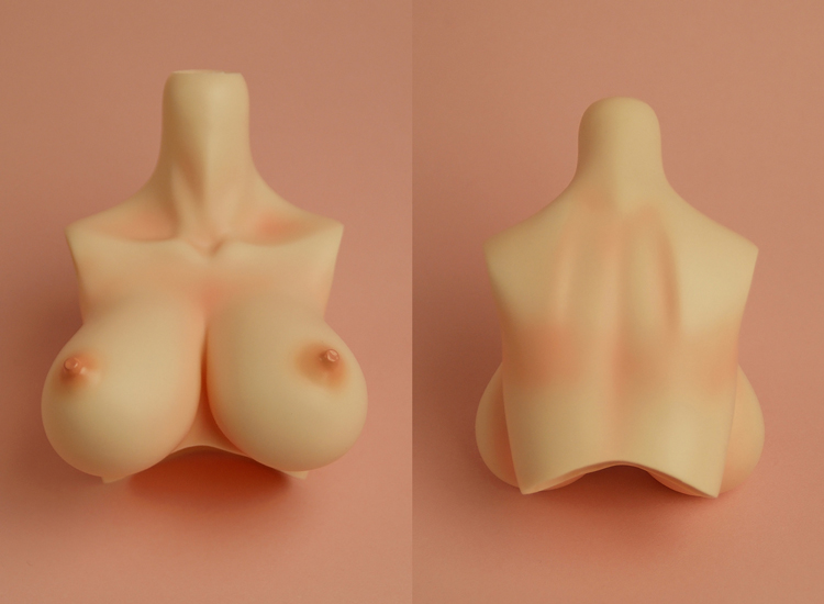 [Outer Body Part] Type-G Bust Whitey (Blushed)