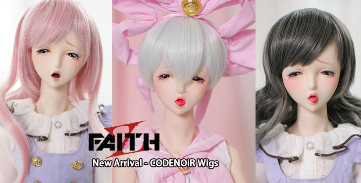 SWITCH Dollvie 2017 Limited Edition Wigs