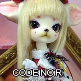 CODENOiR x DollZone Miss Kitty - Red Rosy Kitten